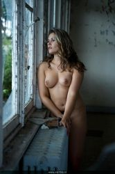 Diane looking outside by mdfoto