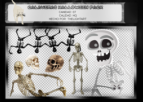 CALAVERAS PACK PNG | HALLOWEEN by ThelightartOFC