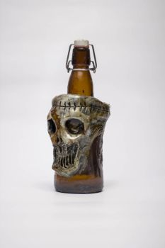 Creepy Bottle by FraterOrion