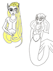 Princessess as elves by sailor-kitty19