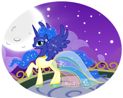 ContestEntry: Princess Luna Gala Outfit by Gryphonia