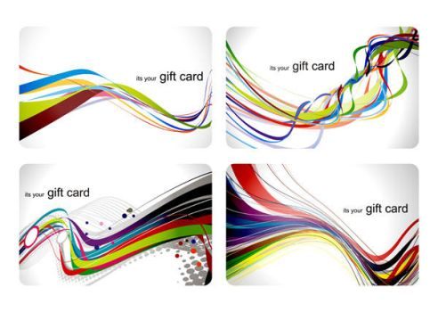 Abstract Business Cards Background by vectorbackgrounds