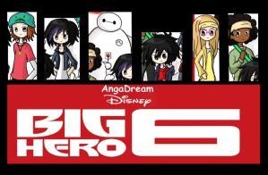 Big Hero 6 by LoveDash273