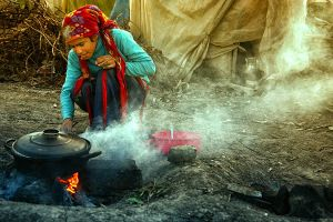 To be child in tents windlass 34 by AHMETSOLEY