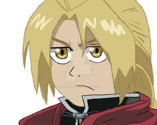 Edward Elric by outoforbit4ever