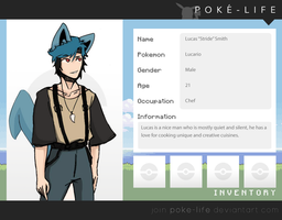 {Pokemon-Life} Lucas ''Stride'' Smith by BoopBeDoop