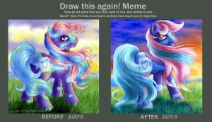 Before and After by FlyingPony