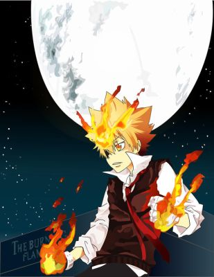 Tsuna in the Night by pyrogamer01