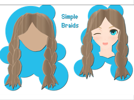 Simple Braids Download by xkyarii