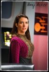 Amy Acker Star Trek Romulan Commander TOS by gazomg