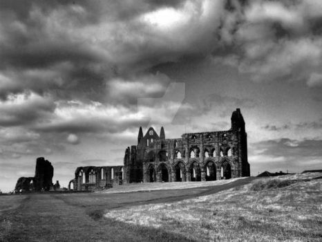 Whitby Abbey by nicolajleaning