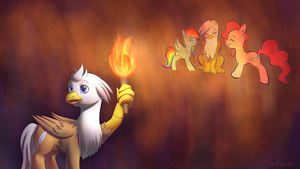 :Comm: The Lost Treasure of Griffonstone by VividVapor