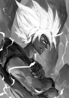 Super Saiyan Goku by just1ce1