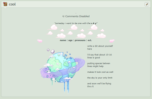 The Sky is my Everything - F2U NonCore Skin by cannedplants