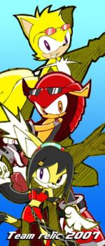 Sonic Riders 2 Team Relic prev by Trakker