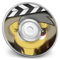 daring do idvd icon by rhubarb-leaf