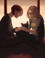 Streaky and the Danvers Sisters by Vivi-P