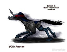 Bestiario #010 - Avercan by FarothFuin