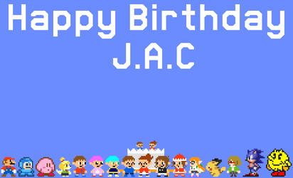 Birthday Gift for J.A.C by NickCox01