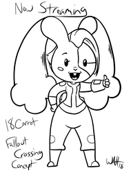 18 Carrot Stream Announcement by Inkwell-Pony