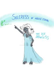 Selcress, the Ice Princess by DFroGGotten1
