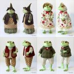 Clothes for Mr. and Mrs. Ropuha Toads by scargeear