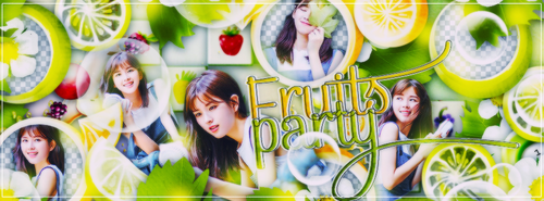[Scrapbook] Fruits Party by RD-A