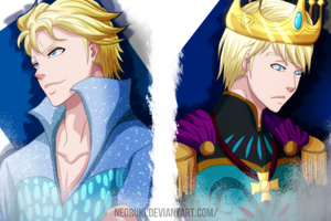 Elsa Genderbent by NeoRuki