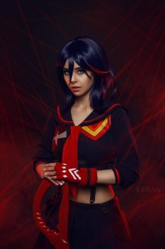 Kill la Kill - Ryuko Matoi cosplay by Disharmonica