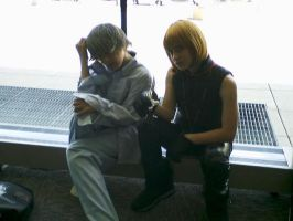 Otakon 2007 - Mello and Near by InkkyFikky