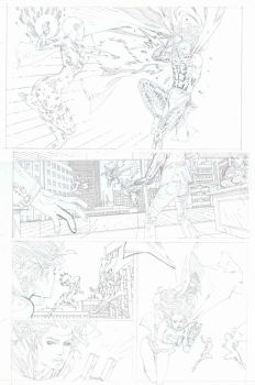 SUPERGIRL pencils pg 11 by timothygreenII