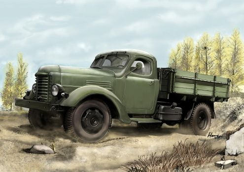 Ca10 truck by hannay1982