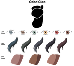 Odori Clan Color Sheet by anniberri
