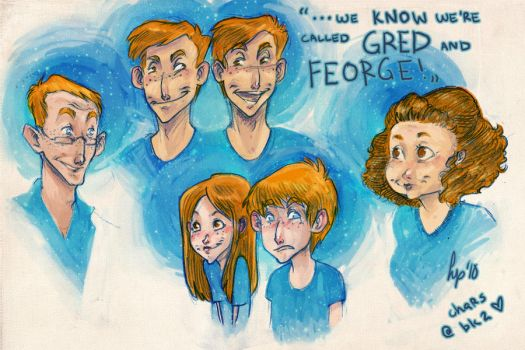 Gred and Feorge by Hoperin