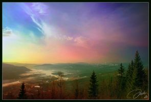 The Norwegian Morning Mist by DaXXe