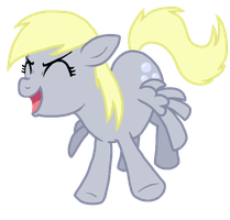 derpy yay by Nukeleer