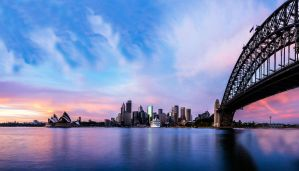 Sydney Harbour Morning by TarJakArt