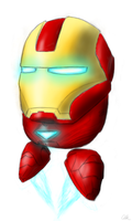 IRON MAN as one of Those People by Assasserik