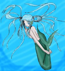 Mermaid: Colored by Chikako