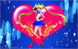 Sailor Moon (Sailor Moon S Version) by TRXNALARA