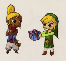 A present for Tetra by YamiRedPen