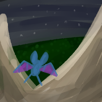 [PTS] Flying Over The Mountains by RandomAbsol7404
