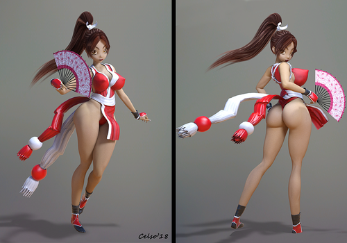 Mai Shiranui ! by Celso33