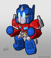 1984 Autobot Optimus Prime by MattMoylan