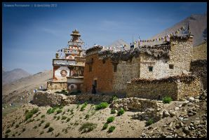 Dho Tarap gompa by Dominion-Photography