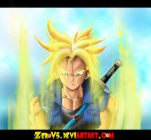 Super Saiyan Trunks by TrebleEXE