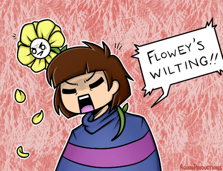 Undertale - Wilting by AquasProductions
