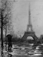 Paris in the Rain by gavwoodhouse