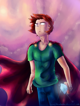 Herobrine the Heroic by jenny-theanimator