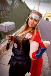 Lady Thor by Mutchiness